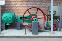 Luchtcompressor voor het schoonmaken en het zuiveren van gerst Royalty-vrije Stock Foto