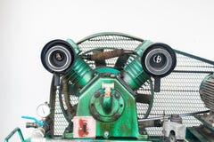 Luchtfilter, Compressoren van de Cilinder de Vergeldende Lucht op Industrie Stock Afbeeldingen