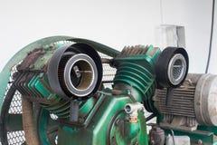 Luchtfilter, Compressoren van de Cilinder de Vergeldende Lucht op Industrie Royalty-vrije Stock Fotografie
