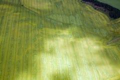 Luchtfoto van Domeinen, Duitsland Stock Foto's