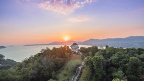 Luchtfotografie bij khao khad Royalty-vrije Stock Afbeelding