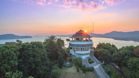 Luchtfotografie bij khao khad Royalty-vrije Stock Foto's
