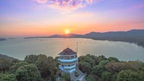 Luchtfotografie bij khao khad Stock Fotografie