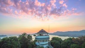 Luchtfotografie bij khao khad Stock Foto