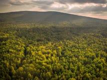 Luchtfotografie van Polen /Saint Katherine van het Swietokrzyski de Nationale Park royalty-vrije stock fotografie