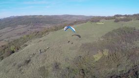 Luchtfotografie van Roemeense Montains stock footage