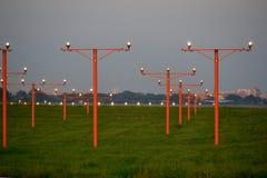 Luchthaven, afstandsstralen Royalty-vrije Stock Afbeelding