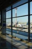 Luchthaven Boryspil, Kiev, de Oekraïne Stock Foto's