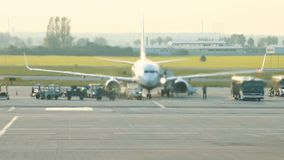 luchthaven E stock video