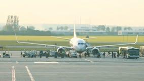 luchthaven E r stock videobeelden