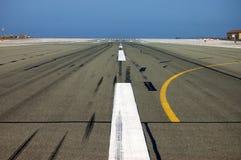 Luchthaven in Gibraltar Royalty-vrije Stock Fotografie
