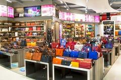Luchthaven het Winkelen stock foto's