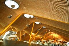 Luchthaven, Madrid, Spanje royalty-vrije stock foto