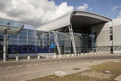 Luchthaven in Poznan, Polen Royalty-vrije Stock Afbeelding