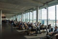 Luchthaven Zürich (Kloten) Stock Afbeeldingen
