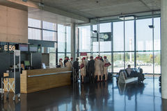 Luchthaven Zürich (Kloten) Royalty-vrije Stock Foto's