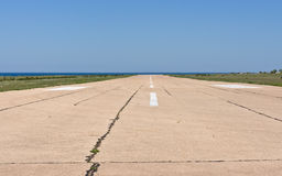 Luchthavenbaan Royalty-vrije Stock Foto's