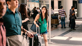 Luchthavenbeweging Stock Fotografie