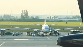 Luchthavengebied E r stock videobeelden