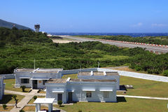 Luchthavens op het Groene Eiland, Taiwan Royalty-vrije Stock Fotografie