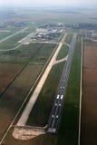 Luchthavens van hierboven Stock Foto