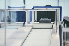 Luchthavenveiligheidscontrole royalty-vrije stock fotografie