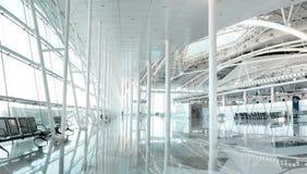 Luchthavenzitkamer royalty-vrije stock foto