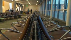 Luchthavenzitkamer royalty-vrije stock afbeeldingen