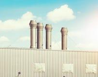 Luchtleidingsfabriek Royalty-vrije Stock Foto's