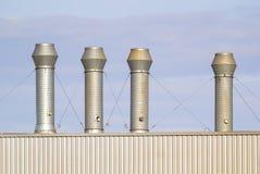 Luchtleidingsfabriek Stock Afbeeldingen