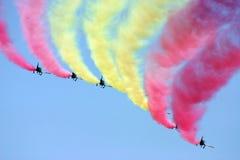 Luchtmacht demoteam Stock Fotografie