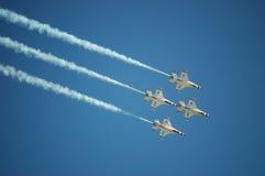 Luchtmacht Thunderbirds Stock Afbeeldingen