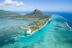 Luchtmauritius Stock Foto