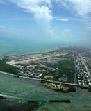 Luchtmening Key West Florida royalty-vrije stock foto