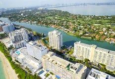 Luchtmening in Miami Royalty-vrije Stock Foto