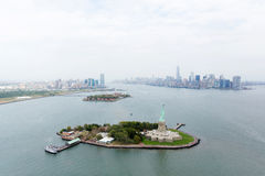 luchtmening NYC royalty-vrije stock afbeeldingen