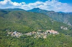Luchtmening over de stad Italië Royalty-vrije Stock Foto's