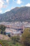 Luchtmening van Andorra Stock Afbeelding