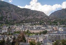 Luchtmening van Andorra Royalty-vrije Stock Foto