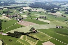Luchtmening van Beieren Stock Afbeelding