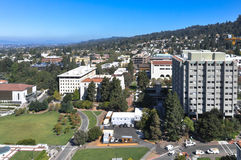 Luchtmening van Berkeley, Californië Stock Afbeelding