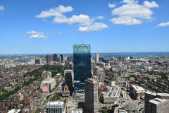 Luchtmening van Boston, Massachusetts Stock Foto's