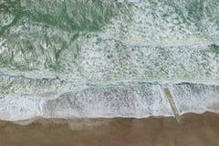 Luchtmening van Brighton Beach Stock Fotografie