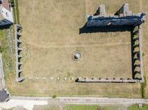 Luchtmening van Certosa-Di Serra San Bruno, Vibo Valentia, Calabrië, Italië Stock Afbeeldingen