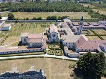 Luchtmening van Certosa-Di Serra San Bruno, Vibo Valentia, Calabrië, Italië Royalty-vrije Stock Foto's
