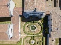 Luchtmening van Certosa-Di Serra San Bruno, Vibo Valentia, Calabrië, Italië Royalty-vrije Stock Afbeeldingen