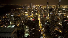 Luchtmening van Chicago stock video