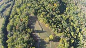 Luchtmening van de grote Serpenthoop, Ohio stock afbeelding
