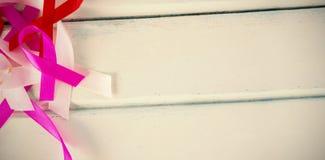 Luchtmening van de linten van de Kankervoorlichting op lijst Stock Afbeelding