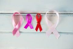 Luchtmening van de linten van de Kankervoorlichting Stock Foto